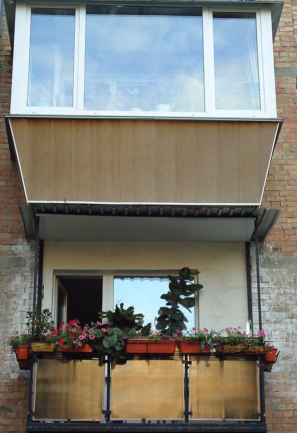 Остекление балконов лоджий, цена 2 000 грн./кв.м, заказать в.